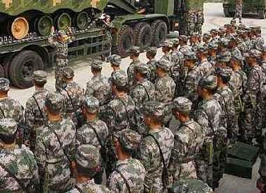 """""""中國第一藍軍旅""""打造實戰化""""磨刀石"""""""