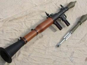 法國警方繳獲反坦克火箭筒等危險物品