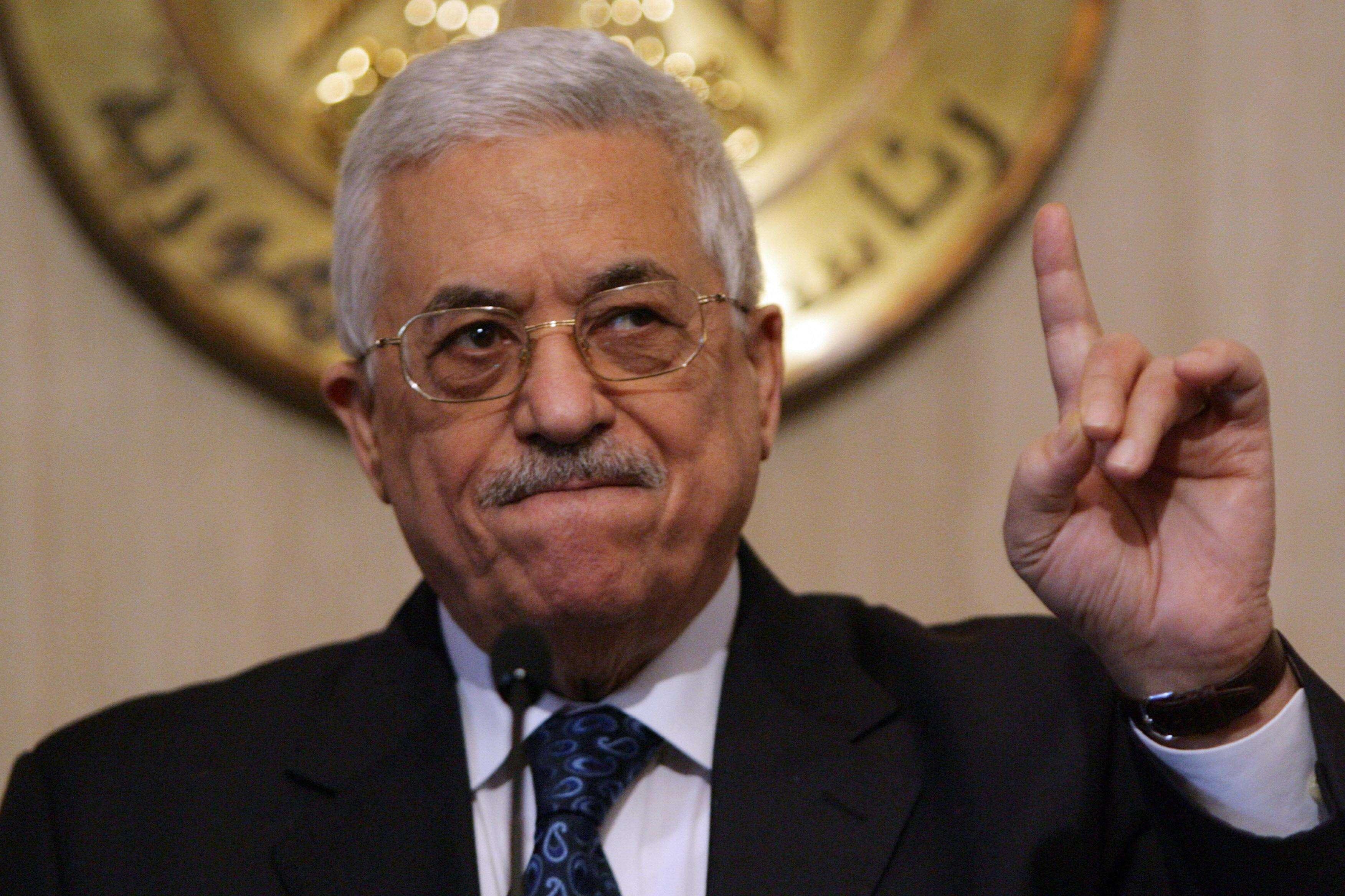 阿巴斯強調以色列和平力量在巴以和平進程中的重要作用