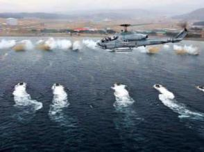 韓美啟動年度聯合軍演