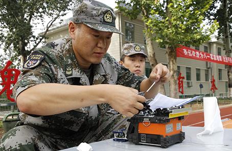 北部戰區某旅瞄準實戰練兵提升信息支撐力