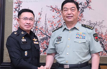 常萬全會見泰國武裝部隊最高司令