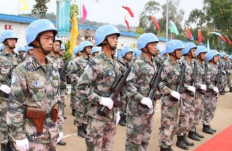 萬裏之遙,維和官兵淩晨4點與北京同步收看大會