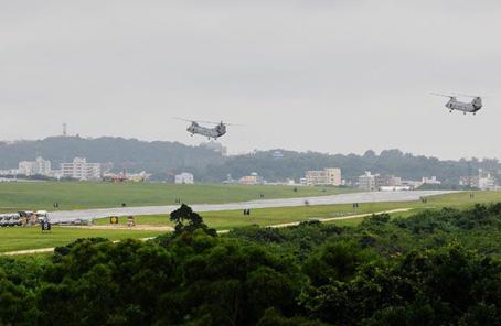 管不了美軍飛機?日本法院駁回民眾停飛美軍機請求