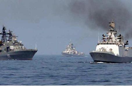 俄印在遠東舉行陸海空軍演