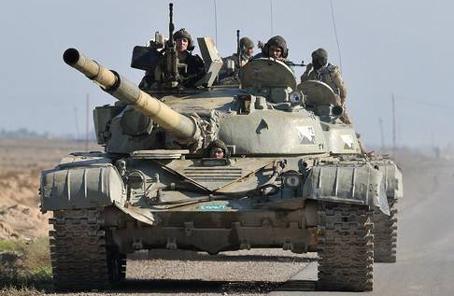 伊拉克政府軍控制靠近庫區邊界的一處重要城鎮