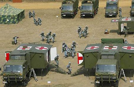 第42醫院野戰醫療所赴高原錘煉保障硬功