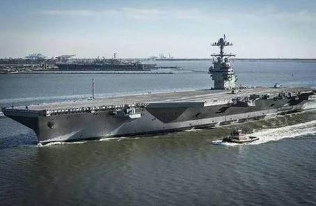"""美军将对""""福特""""号航母进行抗震测试"""