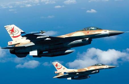 """克罗地亚从以色列购买12架""""二手""""F-16战机"""