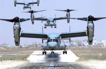 """美""""鱼鹰""""机进驻日本 训练路径不明引发民众恐慌"""