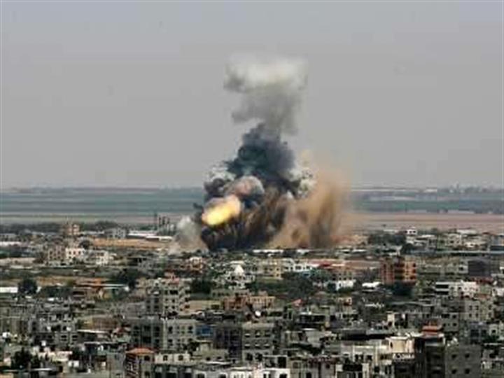 以军空袭加沙地带北部哈马斯军事目标