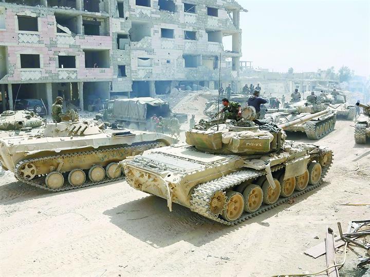 俄罗斯要求他国不要干预叙利亚局势