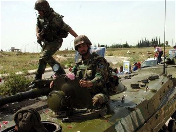 """叙利亚反政府武装""""伊斯兰军""""释放全部扣押人员"""