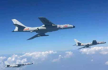 軍事專家:雙向繞飛臺島彰顯空軍體係作戰能力新提升
