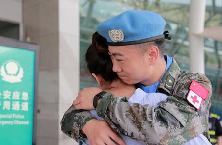 中國第17批赴黎維和醫療分隊第一梯隊部署到位
