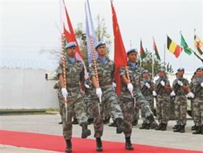 中國赴黎巴嫩維和部隊完成第16次輪換交接