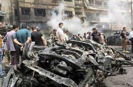 伊拉克首都發生自殺式炸彈襲擊 造成十余人傷亡