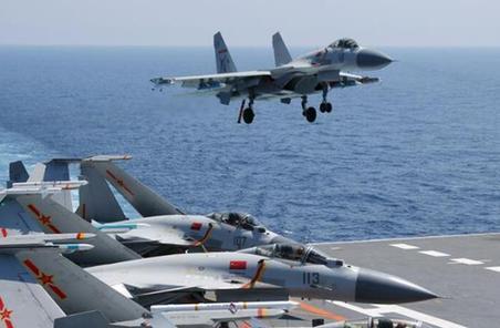 專家:我國艦載航空兵聯隊初具規模 有近20架艦載機