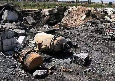 敘利亞中部一軍用機場遭導彈襲擊