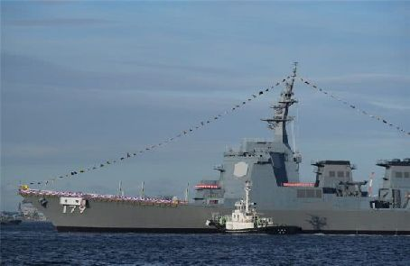 日本新宙斯盾艦或可削弱中國反艦威懾力