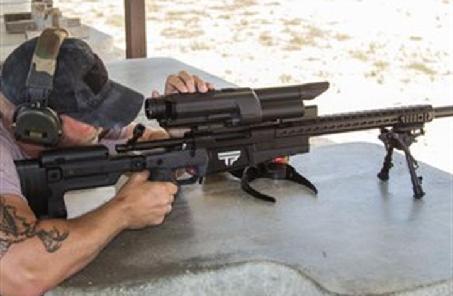 俄研制自動供彈的大口徑狙擊步槍