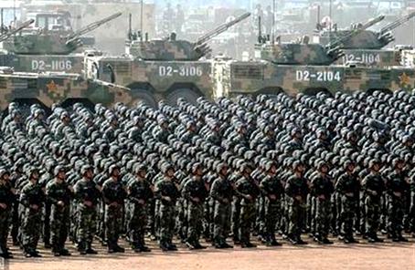 中国军队始终是世界和平的捍卫者
