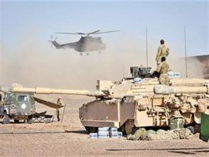 英軍大規模軍演劍指俄羅斯?