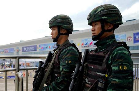 武警珠海支隊為精彩航展構築堅固安全屏障