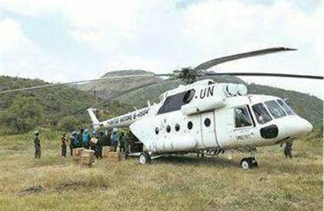 中國赴蘇丹維和直升機分隊通過聯非達團裝備核查
