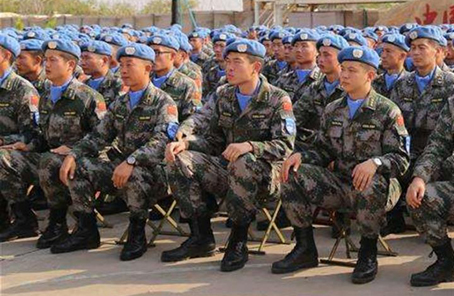 中國第五批赴南蘇丹(朱巴)維和步兵營出徵