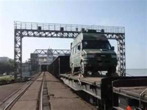 駐廣鐵軍代處協調開通5條超限運輸線路