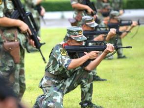 """武警深圳支隊建設水平""""步步高"""":特區的兵,不是白當的!"""