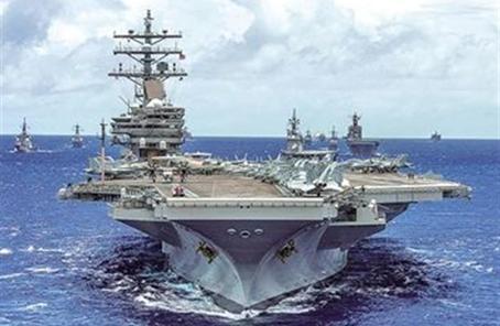 重現航空母艦大決戰? 美日舉行最大規模海上演習