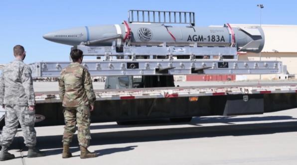 英媒:美軍高超音速武器最新測試失敗