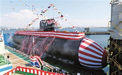 """日本加緊打造""""亞核潛艇"""" 距核潛艇僅剩一座反應堆"""