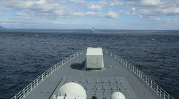 """中俄海軍聯合巡航幾乎繞日本列島一圈 引日政府""""高度關注"""""""