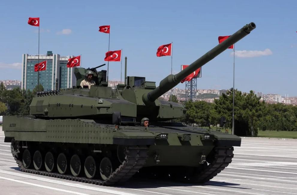 土耳其與韓國簽署軍貿大單 由韓國為土耳其國産坦克提供發動機
