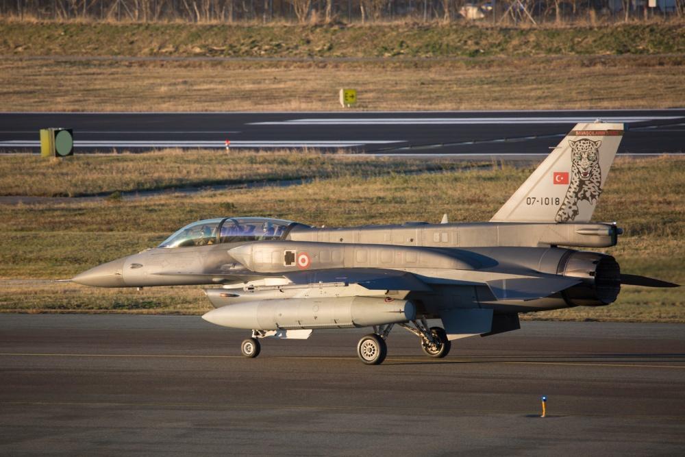 外媒:土耳其開始從美國採購新一批F-16戰機