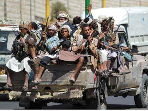 多國聯軍打死85名也門胡塞武裝人員