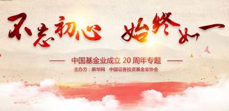 中國基金業成立20周年專題