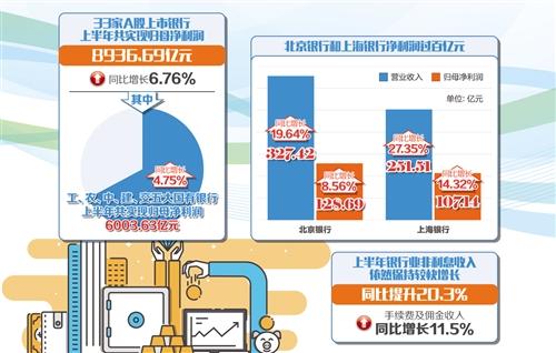 銀行非息收入貢獻增大