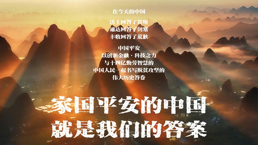 家國平安的中國 就是我們的答案