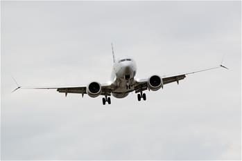 美國暫時停飛波音737 MAX型號飛機