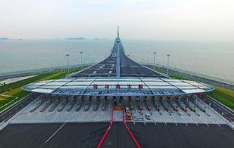 港珠澳大橋正式通車