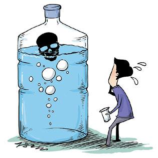 浮世繪:不敢喝的水