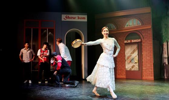 """音樂劇 """"愛上街舞男孩的芭蕾舞女郎""""在韓上演"""