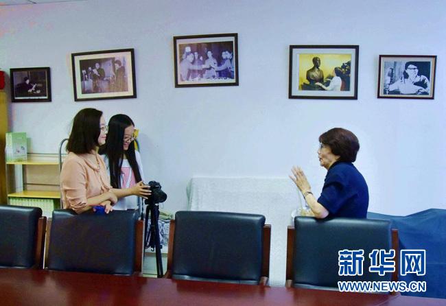 專訪新中國第一代播音員葛蘭:電波永不消逝