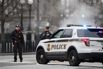 一輛汽車撞擊美國白宮安全柵欄
