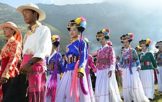 雲南寧蒗:一年一度的摩梭人轉山節