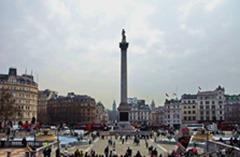 英國:特拉法加廣場上的中國年